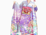How to Draw Anime Girls Online Transparent Kimono Png Anime Girl In Kimono Png Download
