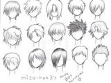 How to Draw Anime Hair Male Easy Manga Hair