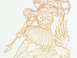 How to Draw Apollo Greek God Easy Greek Gods athena Urban Threads Unique and Awesome