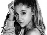How to Draw Ariana Grande Realistic Easy Artist Emilia Apreda On Ariana Grande Drawings Ariana
