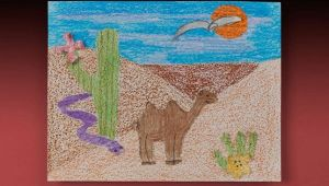 How to Draw Desert Animals Ciy Crafts Desert Crafts Desert Animals Animal Crafts