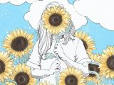 How to Draw Easy Sunflower You are My Sunshine Print Sunflower Illustration