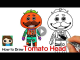 How to Draw fortnite Easy How to Draw tomato Head fortnite How to Draw tomato Head