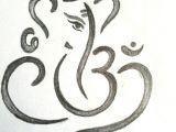 How to Draw Ganesha Easy Step by Step Ganesha Drawing with Om Ganesha Drawing Ganesha Paper