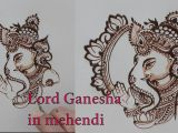 How to Draw Ganesha Easy Step by Step How to Draw Lord Ganesha In Mehendi Design for Bridal Mehndi