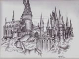 How to Draw Harry Potter Hogwarts Castle Easy 36 Awesome How to Draw Hogwarts Castle Chalk