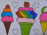 How to Draw Ice Cream Cone Easy How to Draw Cool Cute and Easy Drawings Step by Step for