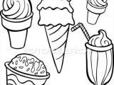 How to Draw Ice Cream Cone Easy Ice Cream Food Items Line Art Clipart Line Art Clip Art