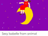 How to Draw isabelle From Animal Crossing Sexy isabelle From Animal Crossing On the Moon Drawing by