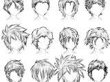 How to Draw Long Anime Hair Pelo Hombre Drawings Boceto De Pelo Dibujar Pelo Y