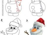 How to Draw Olaf Easy 17 Best How to Draw Olaf Images Drawings Drawing for Kids