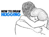 How to Draw People Hugging Easy 51 Clear How to Draw Poeple