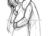 How to Draw People Hugging Easy Pin by Saurabh Tanna On Couple Sketches Hugging Drawing