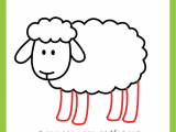 How to Draw Sheep Easy How to Draw A Sheep Step by Step Sheep Drawing Tutorial
