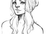 How to Draw Sketch Of A Girl Beanie by Josjez Realistic Drawings Girl Drawing Sketches