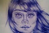 How to Draw Sketch Of A Girl Girl Drawing Haare Zeichnen Und Zeichnen