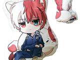 How to Draw todoroki Easy Mattheo Klug My Hero Academia Plush todoroki Shoto Doll Hugged Pillow Birthday toy