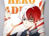 How to Draw todoroki Easy My Hero Academia Pillow 40x40cm Case Cover Shoto todoroki