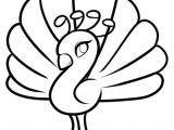 How to Draw Turkey Easy Pfau Ausmalbild Gratis Malvorlagen Ausmalbilder Coloriage