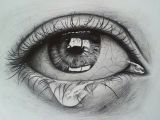 Hyper Realistic Drawing Of An Eye Crying Eye Sketch Drawing Pinterest Drawings Eye Sketch and