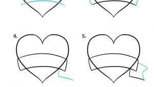 I Love You Easy Drawings How to Draw A Mother S Day Heart Really Easy Drawing Tutorial