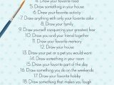 Imaginative Drawing Ideas the Best 30 Day Drawing Challenge the Ultimate Creative