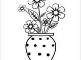 Jar Of Flowers Drawing Pics Of Drawings Easy Prslide Com