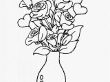 Jar Of Flowers Drawing Simple Flower Vase Sketch Flowers Healthy