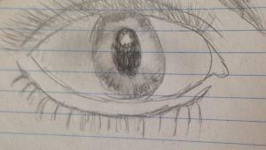 Jenna Drawing Eyes A Eye by Jenna Paiva My Drawings Pinterest Drawings and Eye