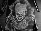 Joker Pencil Drawing Easy Pennywise Drawing by Nikolas Arroyo Art Art Sketch Draw