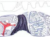 Jordan 9 Drawing A Glimpse at Tinker Hatfield S Jordan 9 Ideation Sketches Conceptkicks