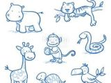 Jungle Drawing Easy 67 Best Easy Animal Line Drawing Images Animal Line