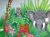 Jungle Drawing Ideas Jungle Scene and More Murals to Get Ideas for Painting Children S
