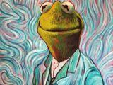 Kermit the Frog Drawing Easy Pin On Van Gogh Humor