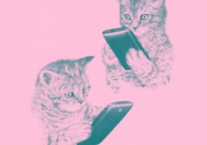 Kitten Drawing Tumblr Kittens Texting Texting Artsy Fartsy and Design Art