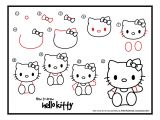 Kitty Drawing Easy How to Draw Hello Kitty How to Doodle Hello Kitty Art