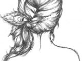 Koi Drawing Tumblr Peacock Feather Tumblr Drawing Images Pictures Becuo Fashion