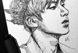 Kpop Drawing Easy Inktober Day 6 the Real Prince Bts Drawings Kpop