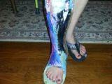 Leg Cast Drawing Ideas 16 Best Plaster Leg Cast Images Leg Cast It Cast Legs