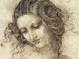 Leonardo Da Vinci Drawing Of A Girl Art During the Renaissance Period Part 2 Art Pinterest