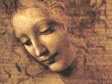 Leonardo Da Vinci Drawing Of A Girl Head Of A Woman Leonardo Wikipedia