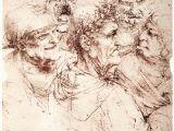 Leonardo Da Vinci Drawing Of A Girl Leonardo Da Vinci S Bizarre Caricatures Monster Drawings Open