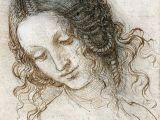 Leonardo Da Vinci Drawing Of A Girl Leonardo Da Vinci Vinci 1452 Amboise 1519 the Head Of Leda