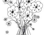 Line Drawing Of Flower Vase Flower Vase Coloring Pages Beautiful Cool Vases Flower Vase Coloring