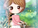 Little Baby Girl Drawing Art Cute Baby and Illustration Image Cartoon Girl Images