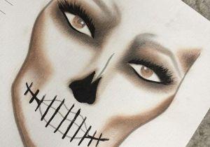 Makeup Drawing Easy Skeleton Princess Ghostie Halloween Halloween Makeup Halloween