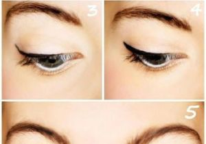 Makeup Drawing Easy top 10 Eyeliner Tutorials for Irresistable Cat Eyes Pretty Done Up