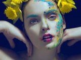Makeup Girl Drawing Photographer Jiamin Zhu Jajasgarden Makeup Marina Boichuk Model