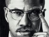 Malcolm X Cartoon Drawing Malcolm X African American Art Drawings Art Pencil Art