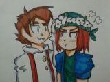 Minecraft Drawing Ideas Flower Crown for You by Bakukurara Minecraft Art